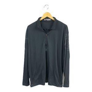 Men's Spyder 1/2 Zip Pullover XL